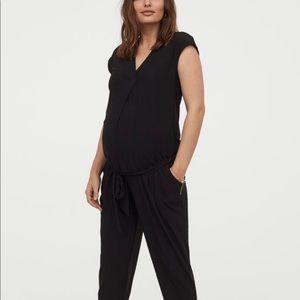 Maternity Black Jumpsuit